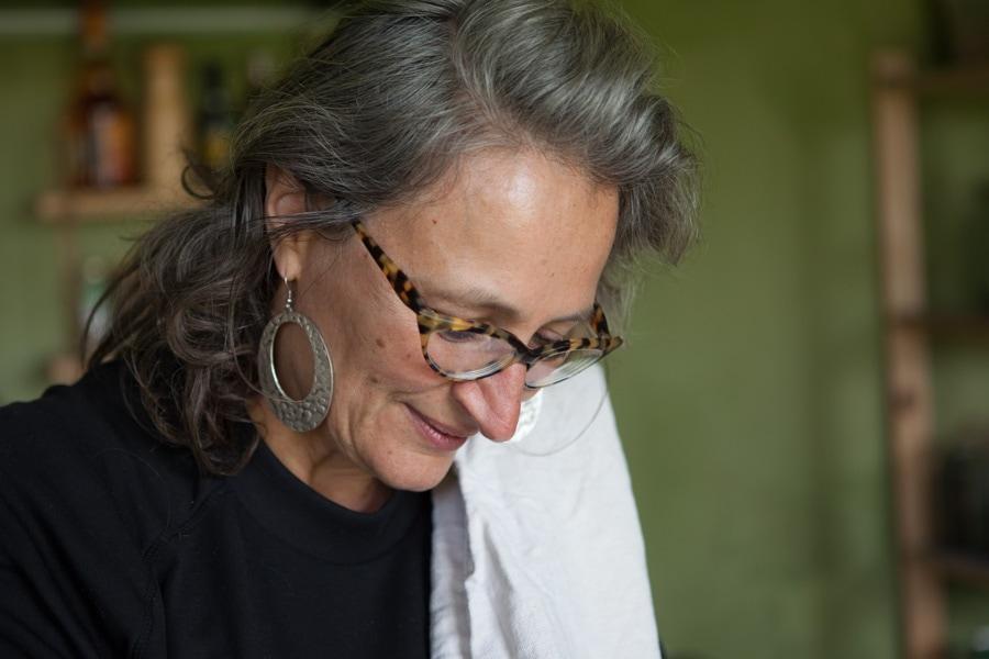 Gertrud yoga retreat kitchen