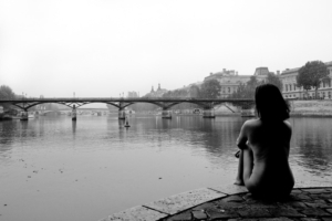Paris Nude Woman River Photography