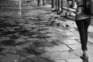 Paris Passion Christine Spring Black and White Photograph